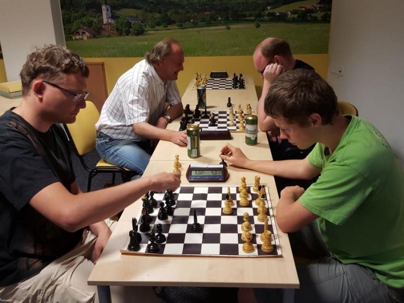 Šachový turnaj Pozlovice 6. 6. 2015